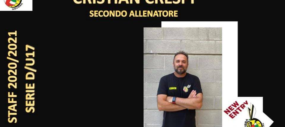 New entry nello staff: arriva Cristian Crespi